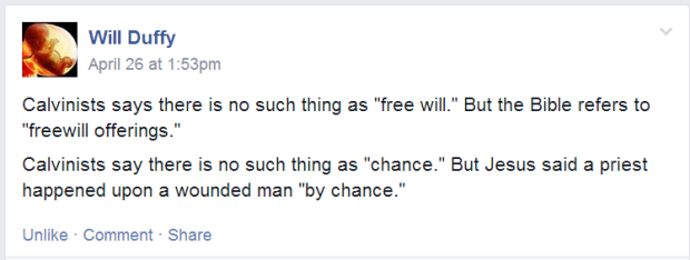 freewill and chance