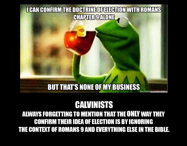 Romans 9 None of My Business
