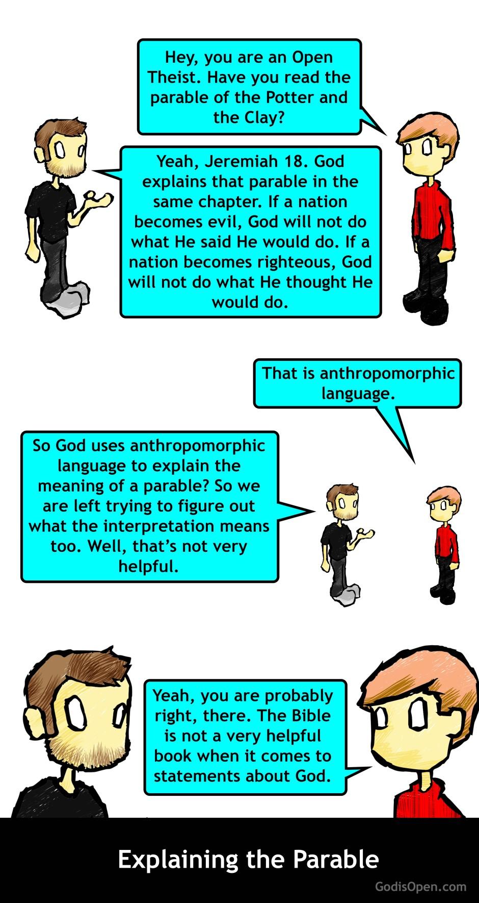 explaining the parable