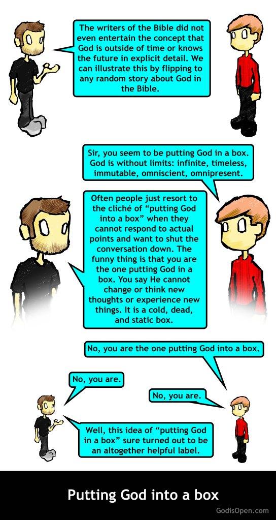 putting God into a box