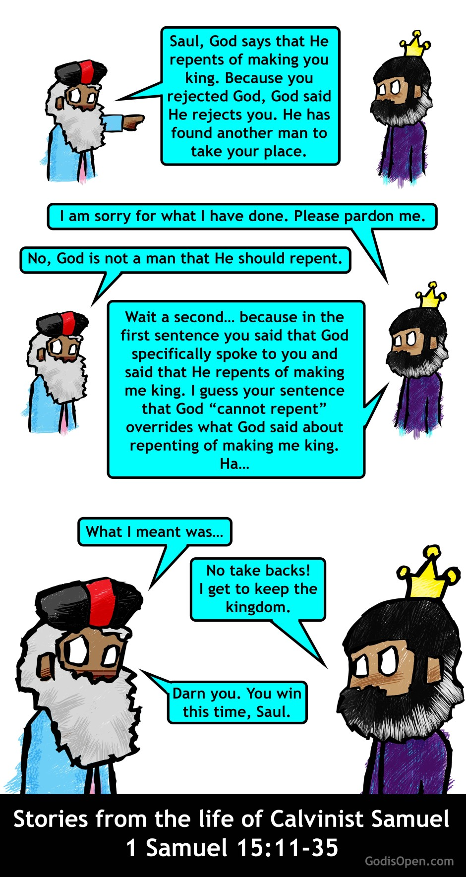 repent saul