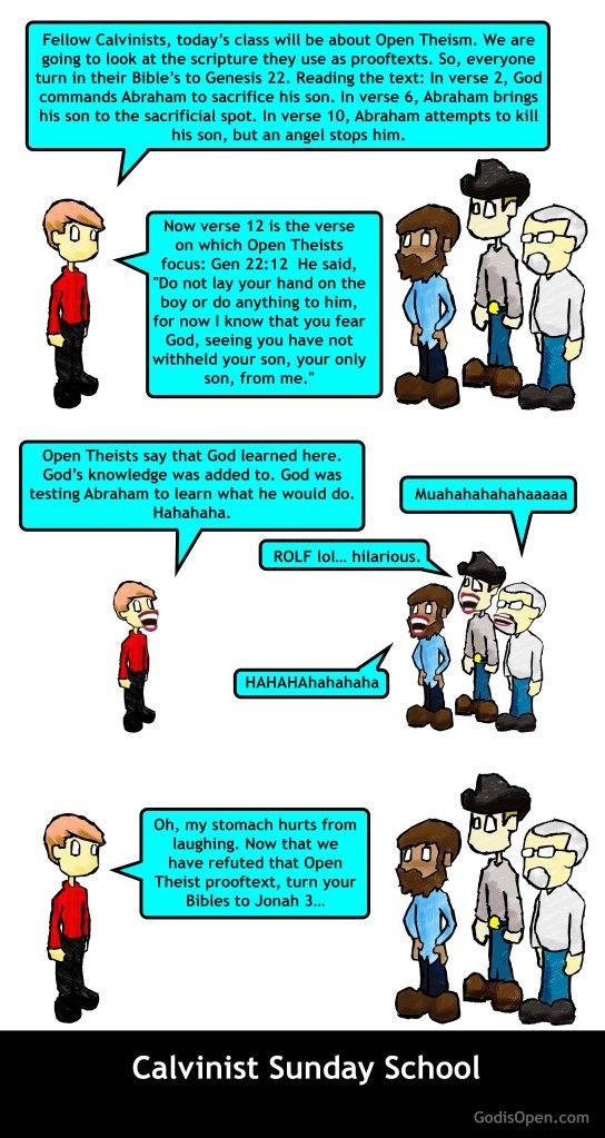calvinist sunday school class