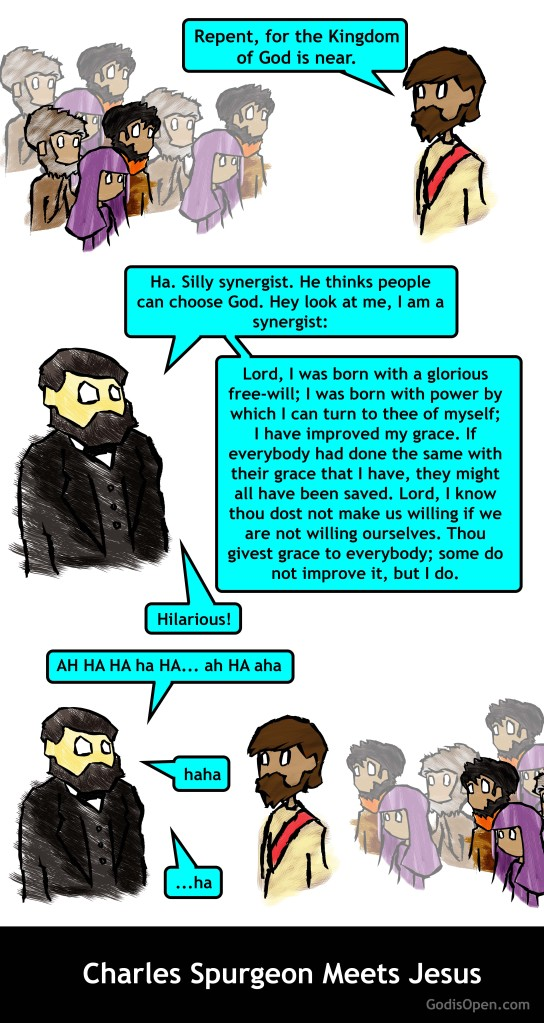Charles Spurgeon Meets Jesus