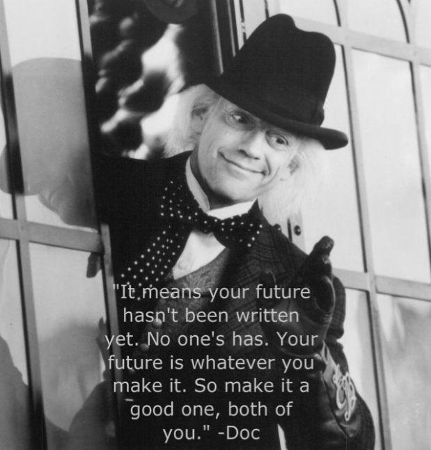 Doc Brown Future
